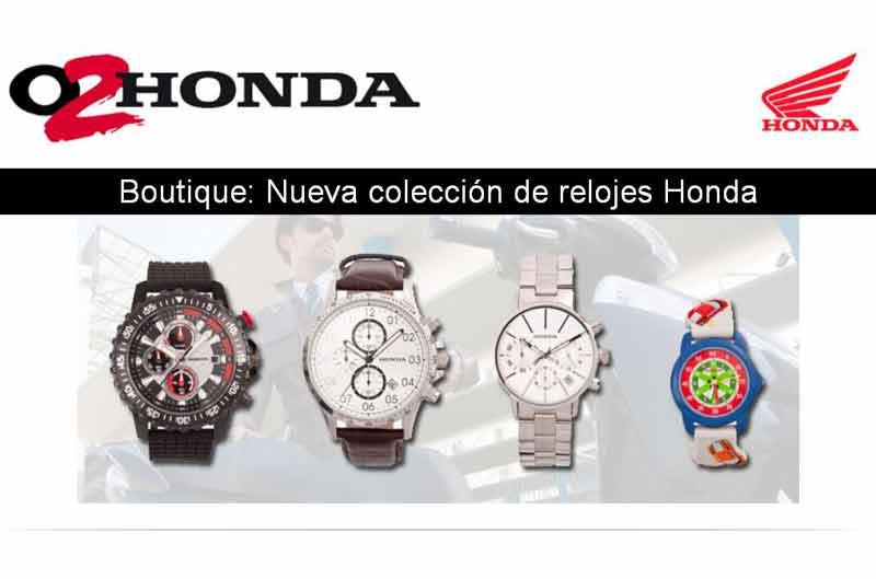 Nueva colección de relojes de O2Honda