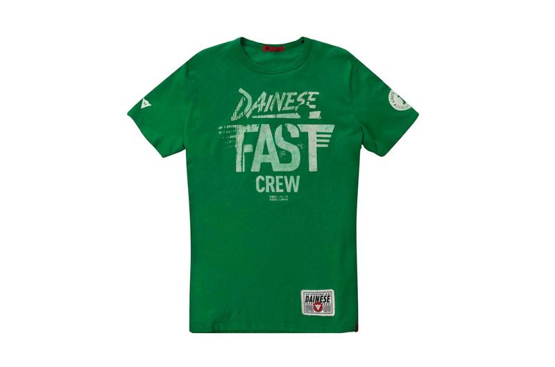 Camiseta Dainese Fast Crew