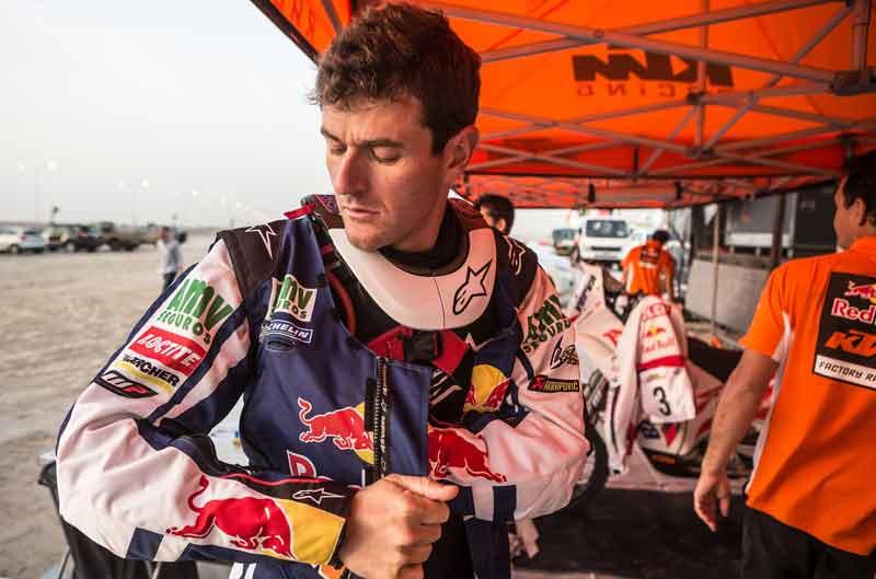 Marc Coma afianza su liderato en el Rally de Qatar