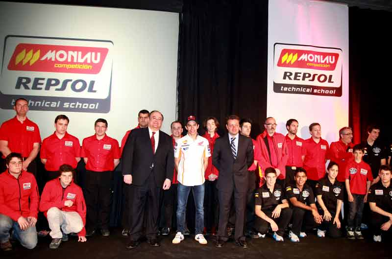 Repsol y Monlau impulsan la formación de los futuros profesionales del motor