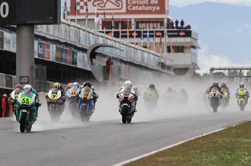 Alejandro Mariñelarena se impone en Moto2