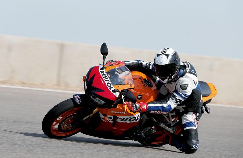 Honda CBR600RR. Prueba