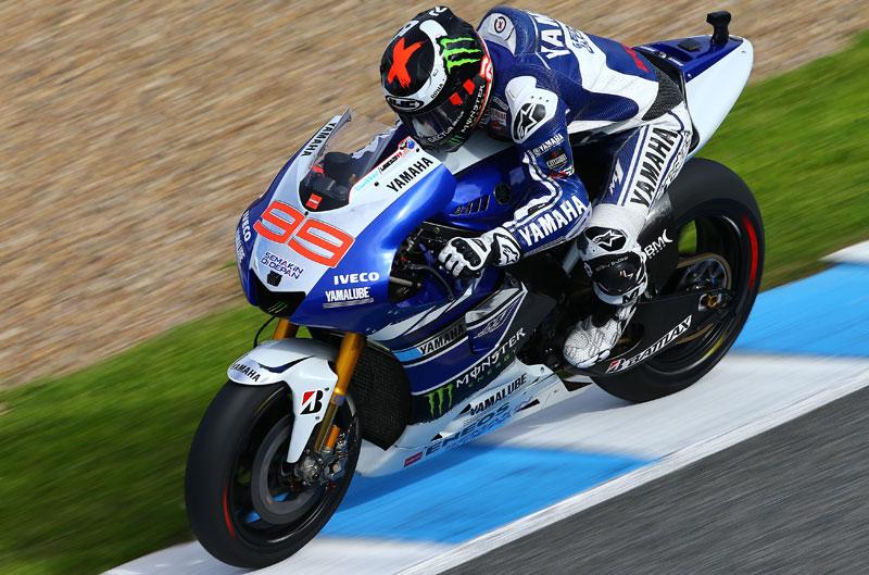 Jorge Lorenzo comienza con fuerza en Jerez