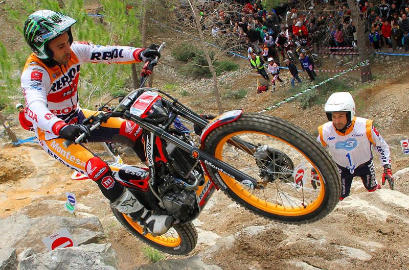 Toni Bou y Fujinami, protagonistas en la apertura del Mundial de trial
