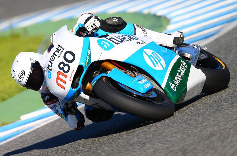 Tito Rabat, primero el viernes en Moto2