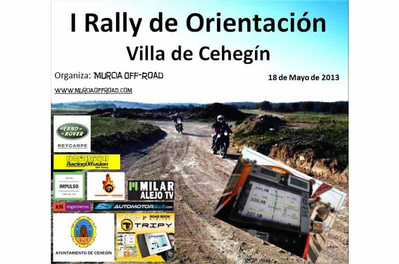 Primer Rally de Orientación en Cehegín