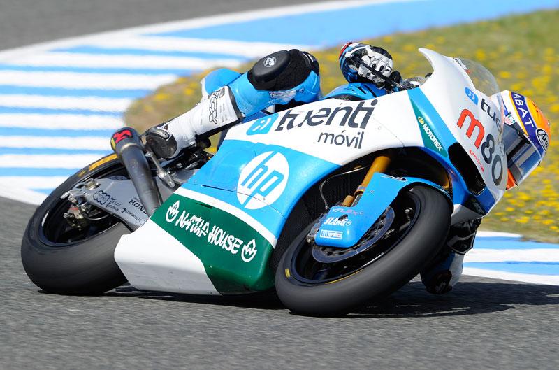 Tito Rabat vuela en el FP3 de Moto2
