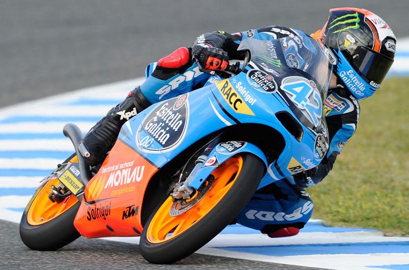 Alex Rins obtiene la pole en Moto3