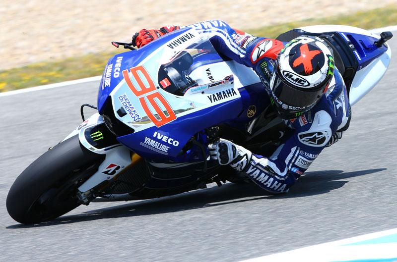 Pole para Jorge Lorenzo en Jerez