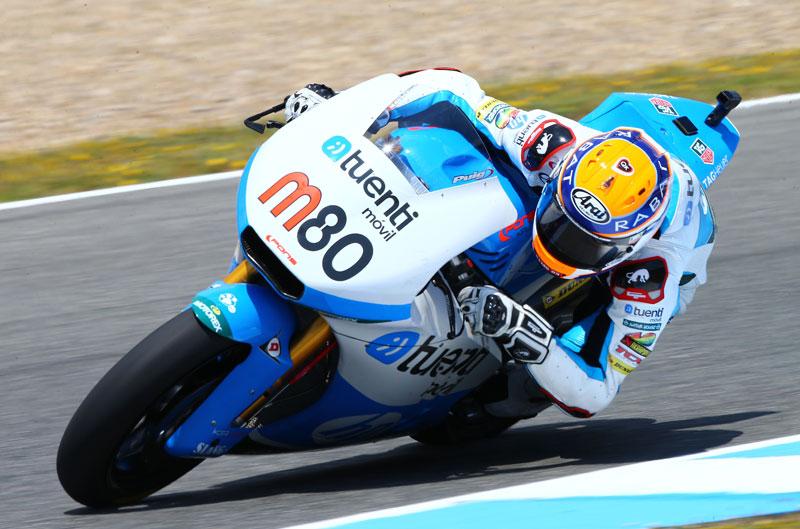 Mejor tiempo para Tito Rabat en Moto2