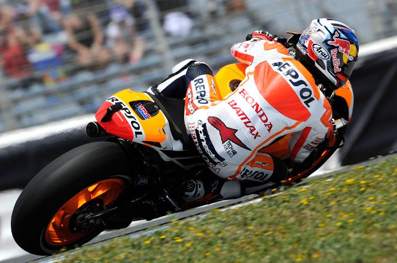 Victoria de Dani Pedrosa en MotoGP en el Gran Premio de España