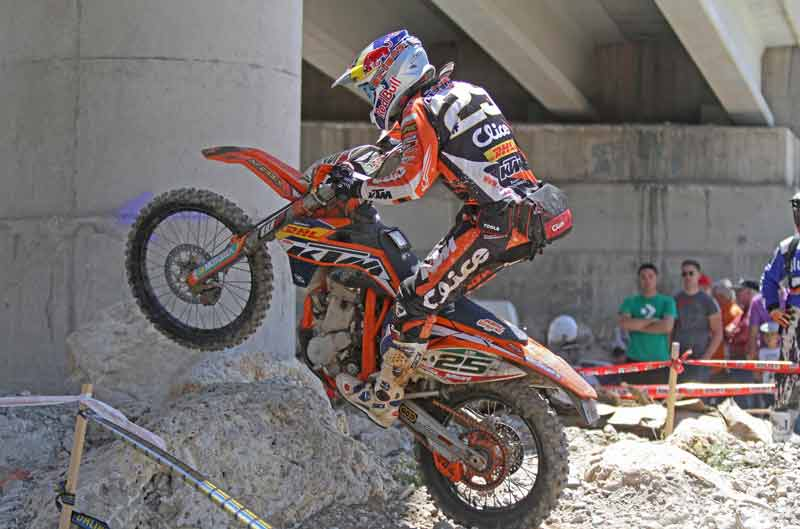 Iván Cervantes gana la tercera prueba del Campeonato de España de Enduro