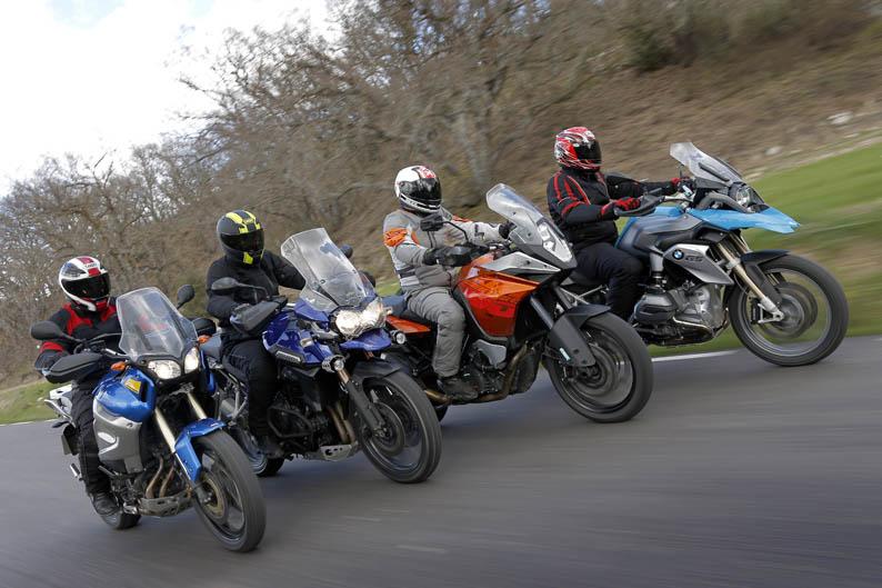 Comparativa maxitrail: BMW, KTM, Triumph y Yamaha