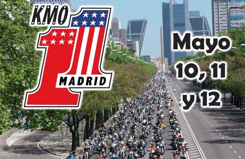 Más de 1000 Harley-Davidson recorrerán Madrid
