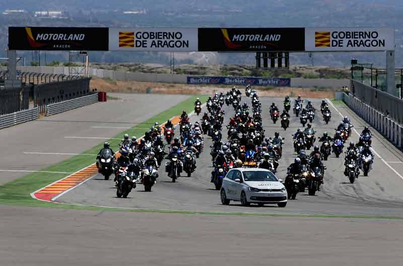 Los aficionados podrán entrar con su moto en MotorLand Aragón