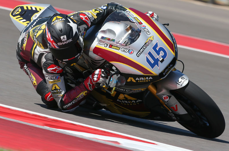 Scott Redding logra el mejor tiempo de Moto2