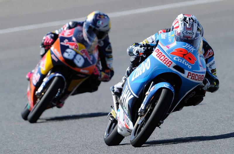 Maverick Viñales saldrá primero en el Gran Premio de Francia