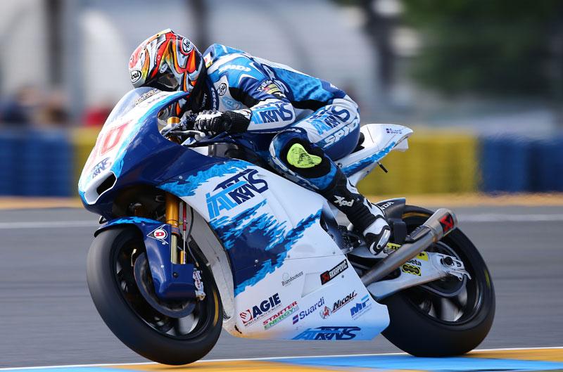 Takaaki Nakagami, mejor tiempo de Moto2 en el GP de Francia