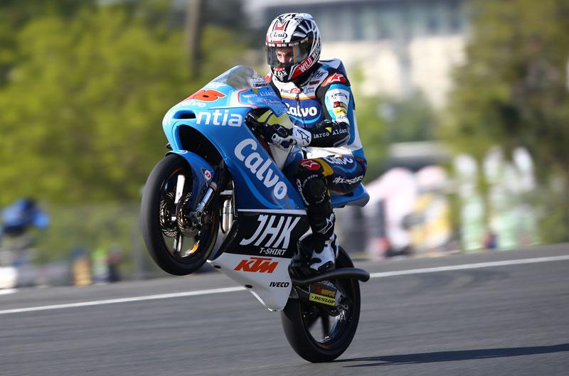 Maverick Viñales gana en Moto3 en Francia