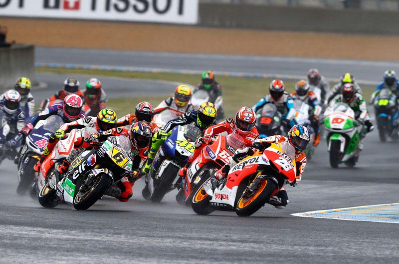 Mundial de MotoGP en Le Mans y KTM Duke 690 R a fondo