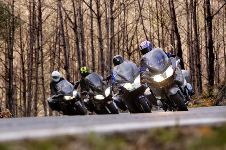 Comparativa: BMW R 1200 RT, Kawasaki 1400GTR, Triumph Trophy SE, Yamaha FJR1300A