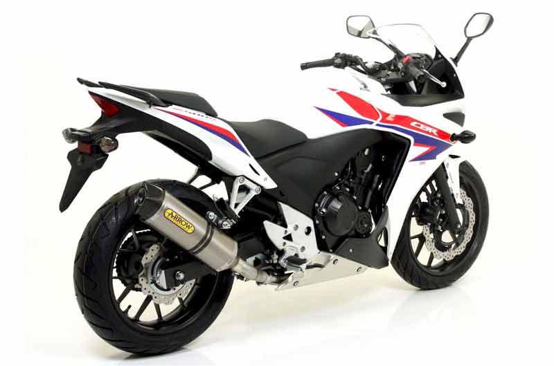 Silenciadores Arrow para Honda CB 500 F y CBR 500 R