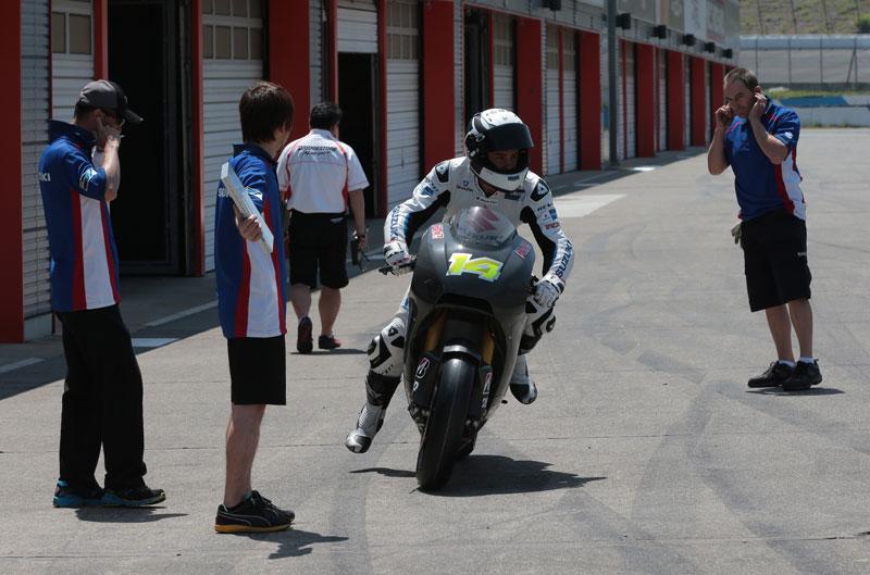 Randy De Puniet se estrena con Suzuki en Motegi