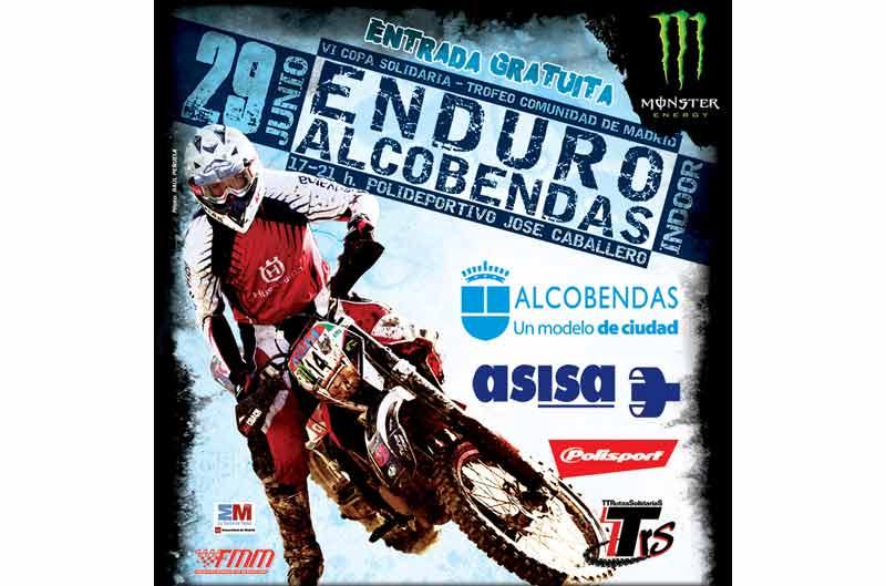 Primer Enduro Indoor en la ciudad de Alcobendas