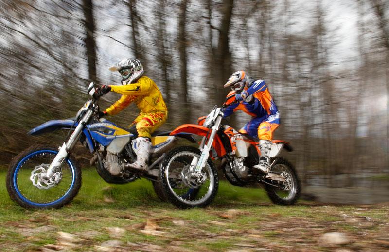 Comparativa Moto Verde: Husaberg FE 501 y KTM 500 EXC