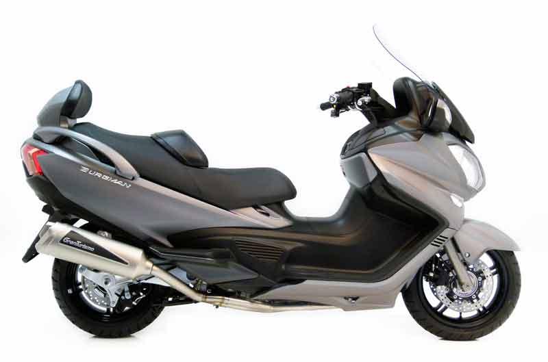 Silencioso LeoVince GranTurismo para Suzuki Burgman 650