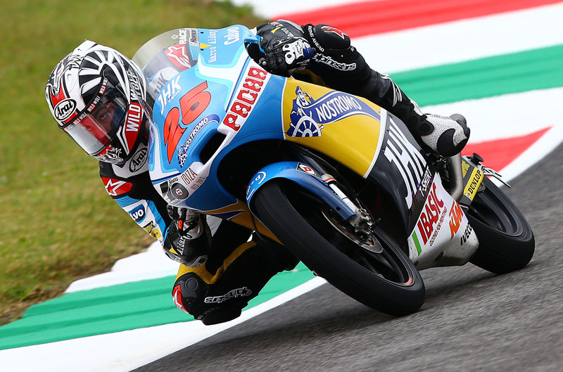 Maverick Viñales domina el FP3 en Italia