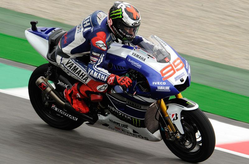 Jorge Lorenzo manda en MotoGP