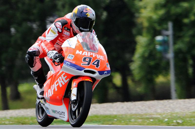 Jonas Folger, primero en la parrilla de Moto3 en Mugello