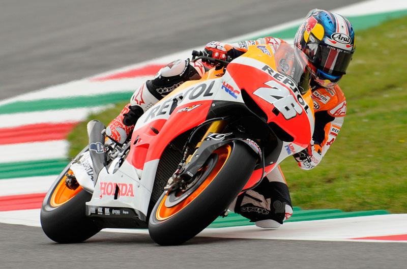 Pole para Dani Pedrosa en el Gran Premio de Italia