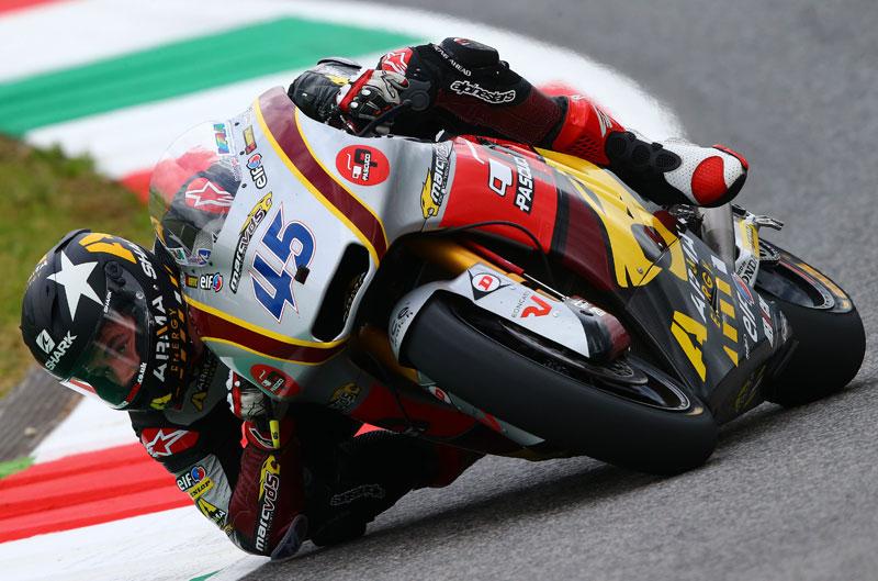 Mejor tiempo para Scott Redding en Moto2