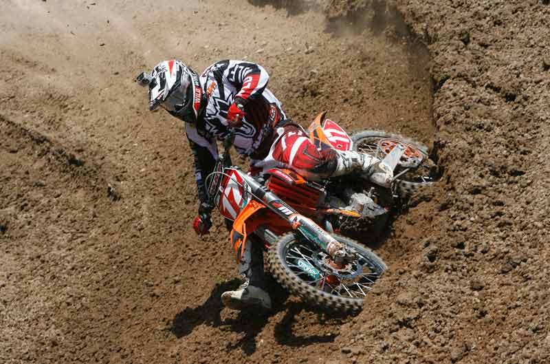 Butrón y Arcarons, protagonistas en el Campeonato de España de Motocross