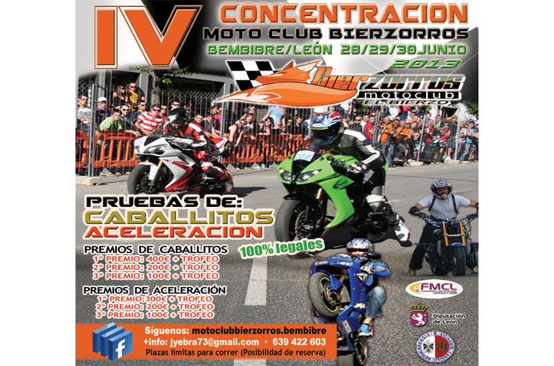 IV Concentración motoclub Bierzorros