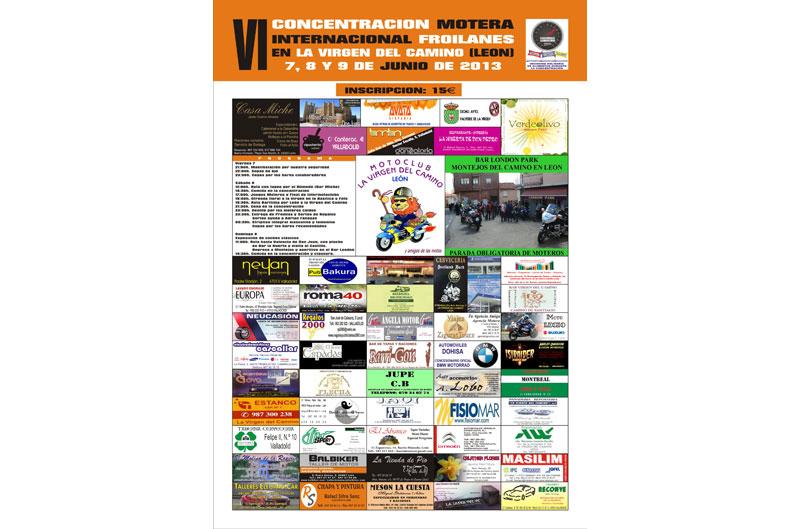 VI Concentración Motera Internacional Froilanes