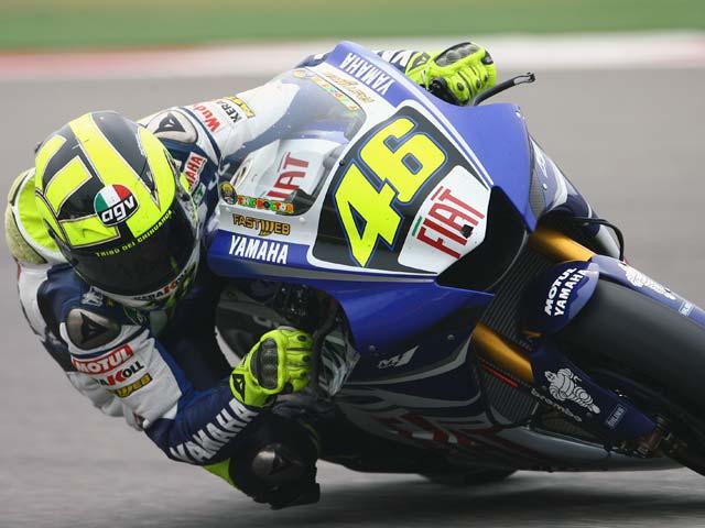 Pole para Rossi