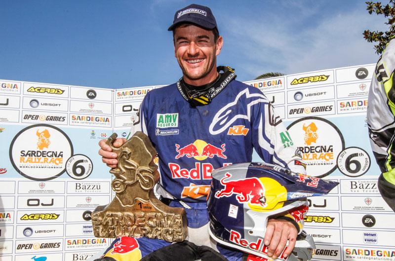 Marc Coma vence el Rally de Cerdeña