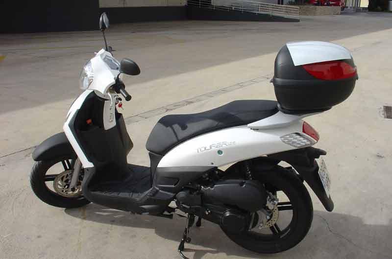 Nuevo scooter Hanway Tourer 125