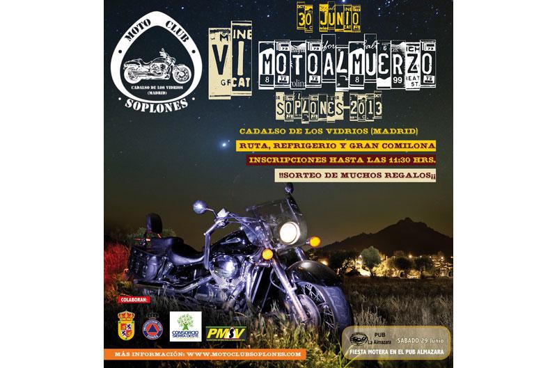 VI Motoalmuerzo Soplones 2013