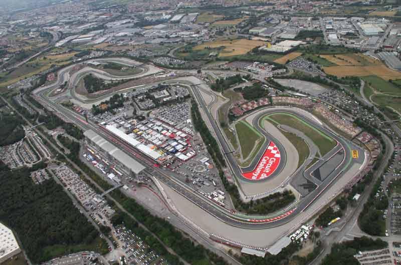 Gran Premio de Cataluña 2013. Circuito de Catalunya. Horarios