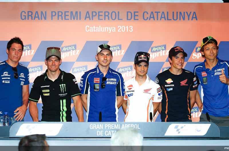 Los pilotos de MotoGP hablan antes del GP de Cataluña