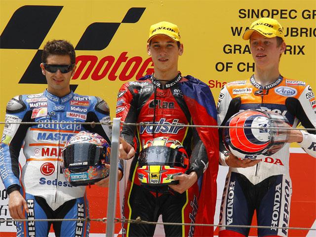 GP de China. Carrera de 125