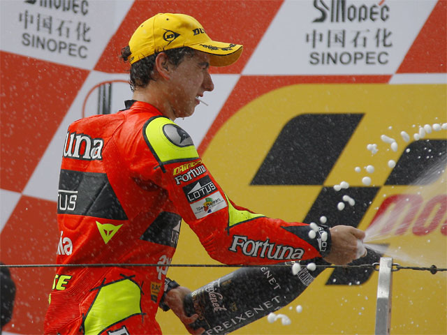 GP de China. Carrera de 250