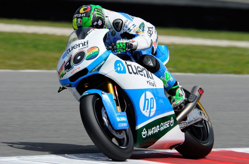 Pol Espargaró, primero en el FP1 de Moto2
