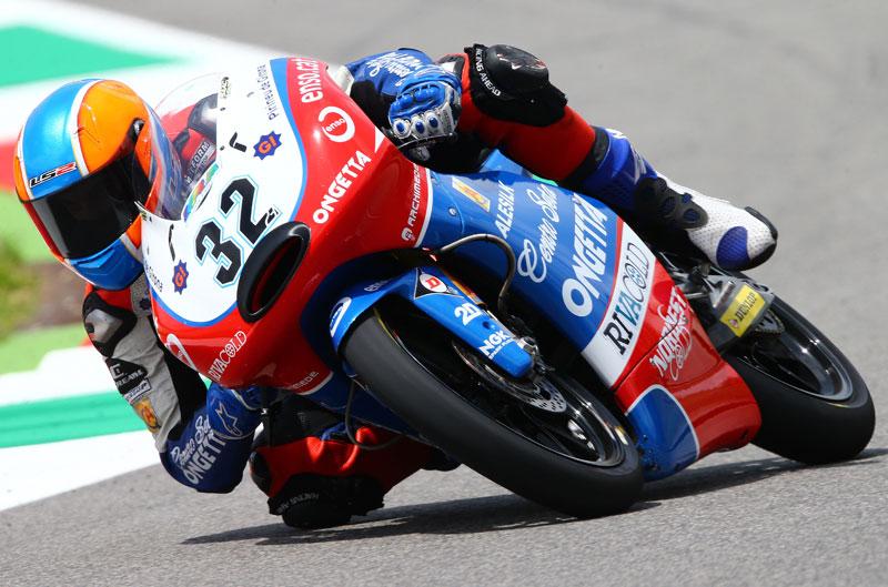 Isaac Viñales sorprende en el FP2 de Moto3