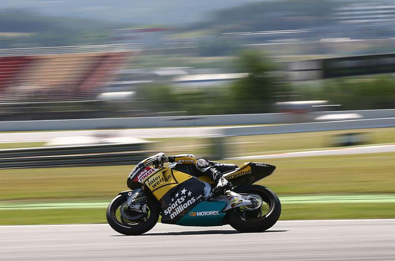 Thomas Luthi, el más rápido en el FP3 del GP de Cataluña