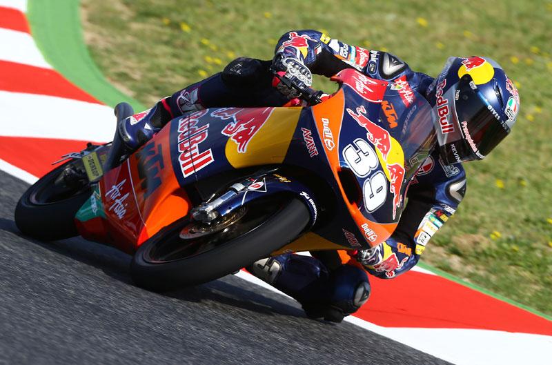 Luis Salom saldrá primero en Moto3 en el GP de Cataluña